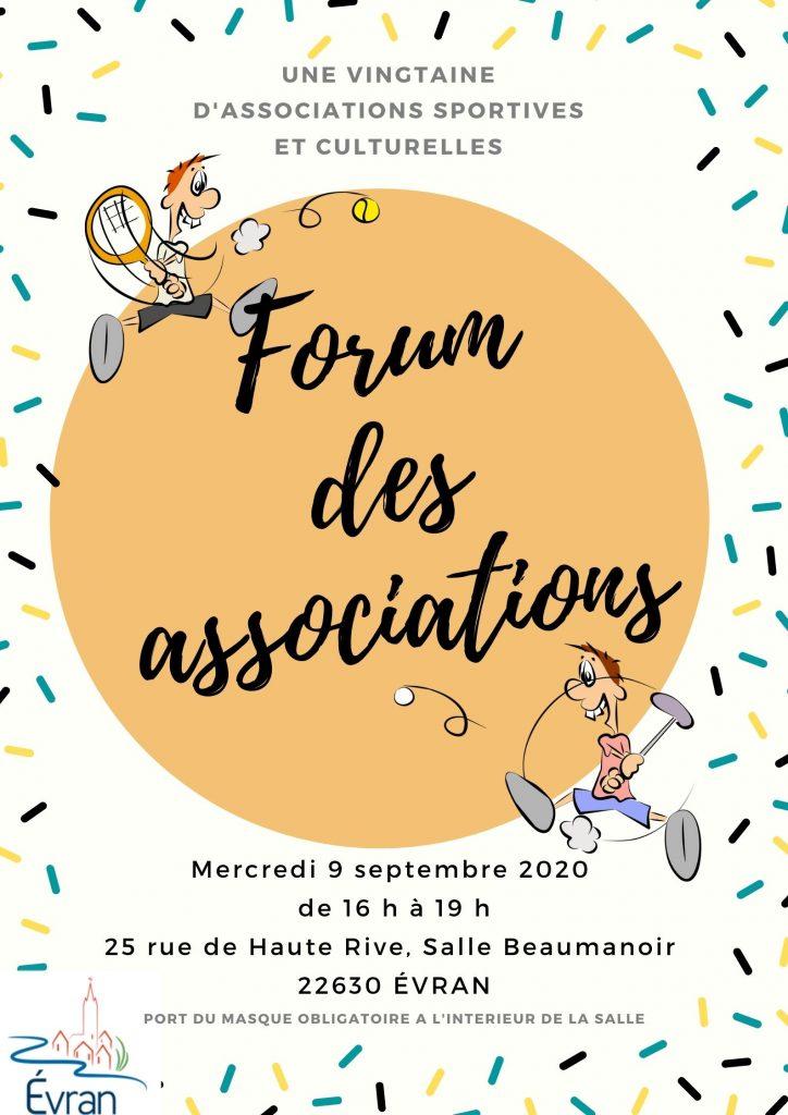 forum des associations Evran