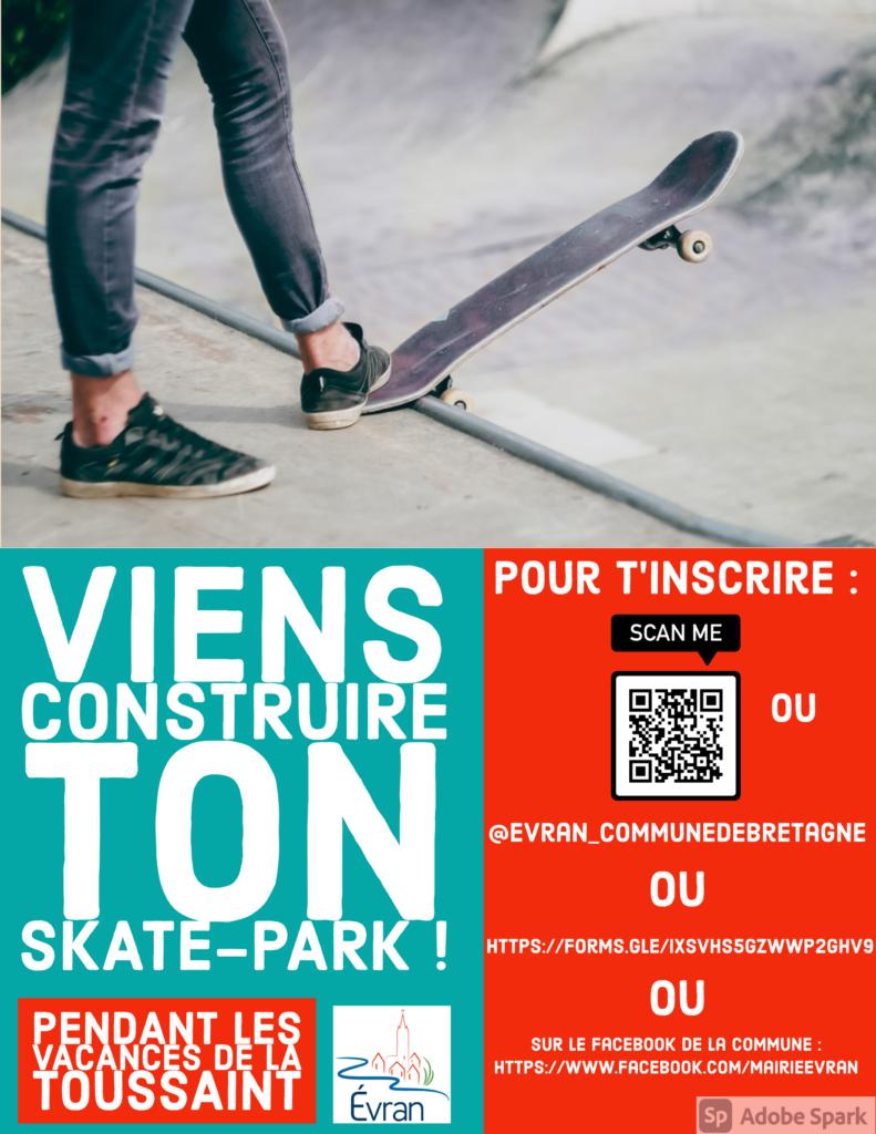 Skate park ÉVRAN
